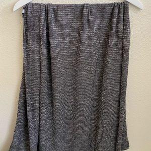 Lululemon Grey vinyasa scarf
